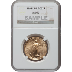 1998 American Gold Eagle MS69