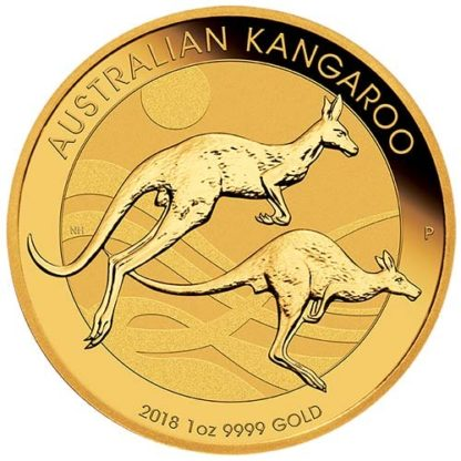2018 1 oz. Gold Kangaroo