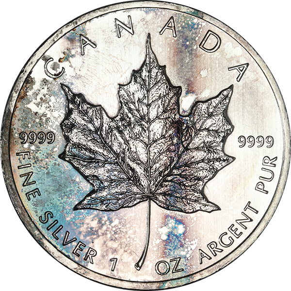 1 oz. Canadian Silver Maple Leaf (Low Premium)