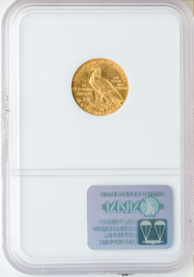 $2 1/2 Indian MS63 Certified (Types Vary)