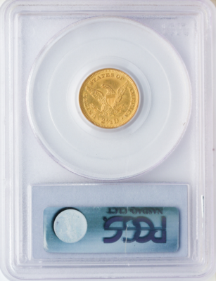 $2 1/2 Liberty MS64 Certified (Types vary)