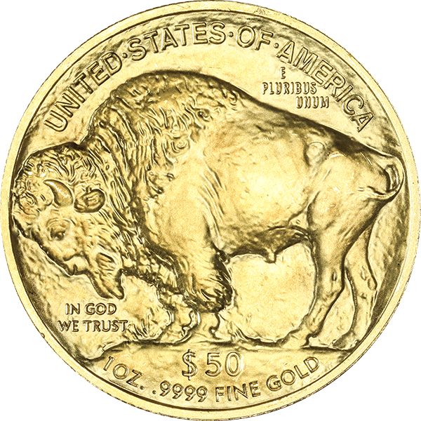 1 oz. American Gold Buffalo (BU) (Dates Vary)