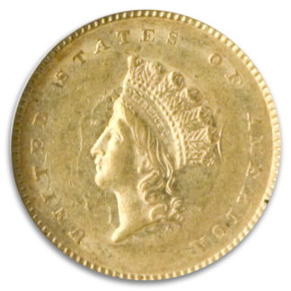 Type 1.2.3 Gold Dollars