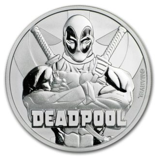 2018 1 oz. Silver Marvel Deadpool (BU)