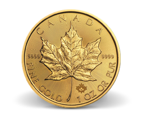 1 oz. Gold Maple Leafs