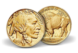 1 oz. Gold Buffalo
