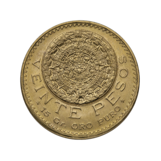 20 Peso Mexican Gold Coin