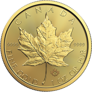 2018 1 oz. Canadian Gold Maple Leaf (BU)