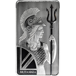 100 oz. Silver Bar - Royal Mint Britannia