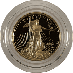 1/10 oz. American Gold Eagle Proof (Dates Vary) (BU)