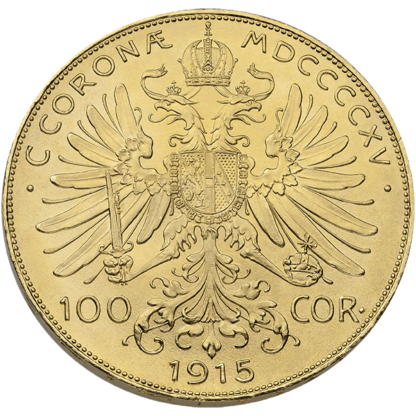 Austria Gold 100 Corona (Dates/Types Vary)