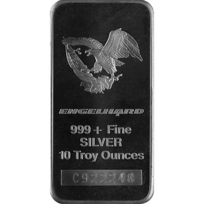 10 oz. Silver Bar - Englehard