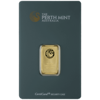 10 gram Gold Bar - Perth Mint
