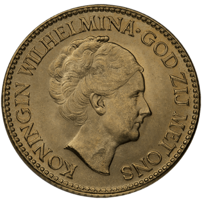Netherlands Gold 10 Guilder (Random Year)