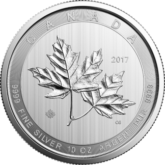 2017 10 oz. Canadian Silver Maple Leaf (BU)