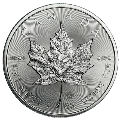1 oz. Canadian Silver Maple Leaf (Dates our choice)