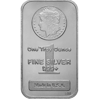 1 oz. Silver Morgan Bar