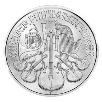1 oz. Austrian Silver Philharmonic (Dates our choice)