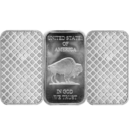 1 oz. Silver Rectangle Bar (Types Vary)