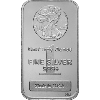 1 oz. Silver Walking Liberty Bar