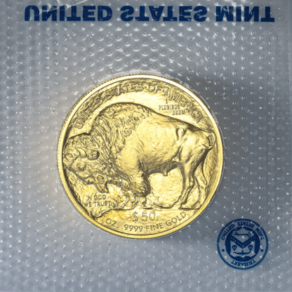 1 oz. American Gold Buffalo (In Plastic) (BU)
