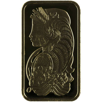 1 oz. Gold Bar (Types Vary)