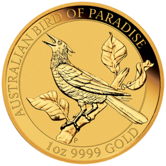 2019 1 oz Bird of Paradise Manucodia - Perth Mint (BU)