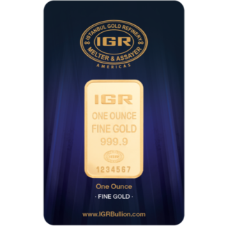 1 oz. Gold Bar - IGR