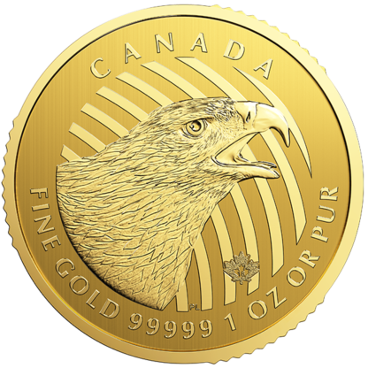2018 1 oz. Royal Canadian Mint Golden Eagle (BU)