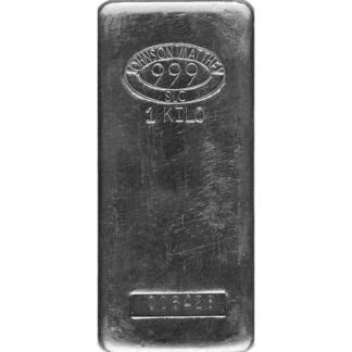 Kilo Silver Bar - Johnson Matthey