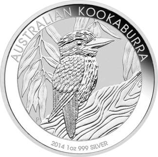 1 oz. Perth Mint Silver Kookaburra (Dates/Types Vary) (BU)