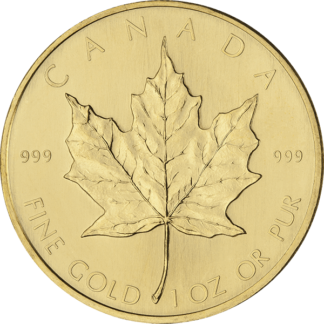 1 oz. Canadian Gold Maple Leaf (BU) (Dates Our Choice)