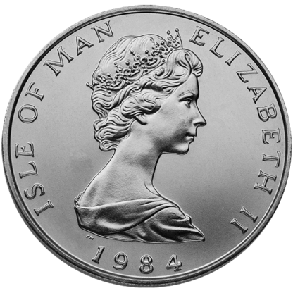 1 oz. Platinum Noble Isle of Man (BU)