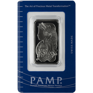 1 oz. Palladium Bar - PAMP