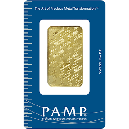 1 oz. Gold Bar - PAMP Suisse