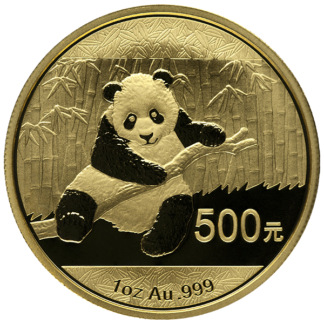 1 oz. Chinese Gold Panda (BU)