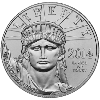 1 oz. American Platinum Eagle (Types/Dates Vary) (BU)