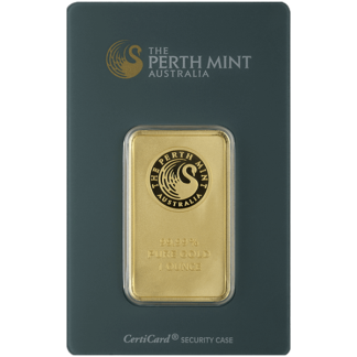 1 oz. Gold Bar - Perth Mint