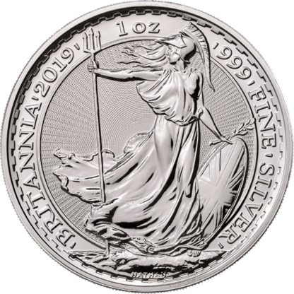2019 1 oz. Great Britain Silver Britannia (BU)