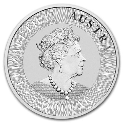 2019 1 oz. Silver Kangaroo - Perth Mint (BU)