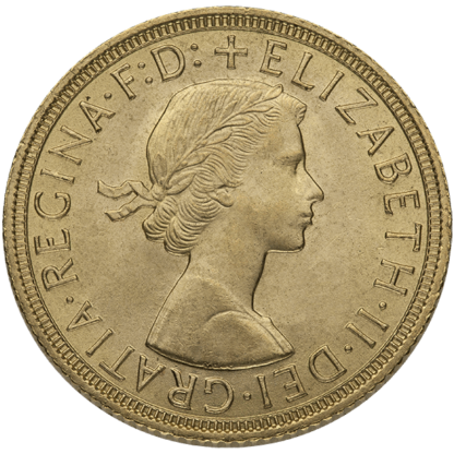 British Gold Sovereign Elizabeth II