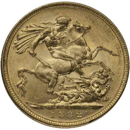 British Gold Sovereign Queen Victoria Old (Dates/Types Vary)