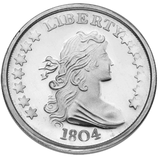 1 oz. Silver Round (Types Vary)