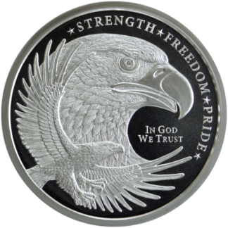 1 oz. Silver Round Eagle - Golden State Mint