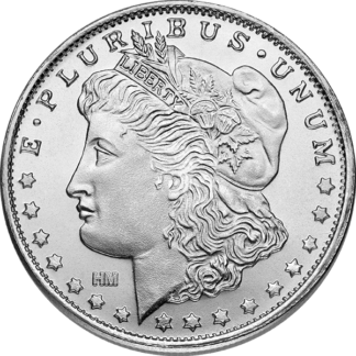 1 oz. Silver Round Morgan