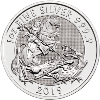 2019 1 oz. British Silver Valiant (BU)