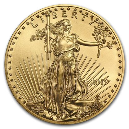 2019 1/10 oz. American Gold Eagle (BU)