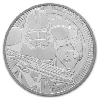 2019 1 oz. Niue Star Wars: Silver Clone Trooper (BU)