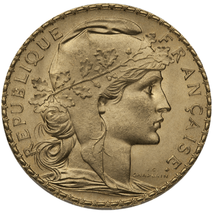 French Gold 20 Franc Rooster (Dates/Types Vary)