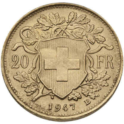 Swiss Gold 20 Franc